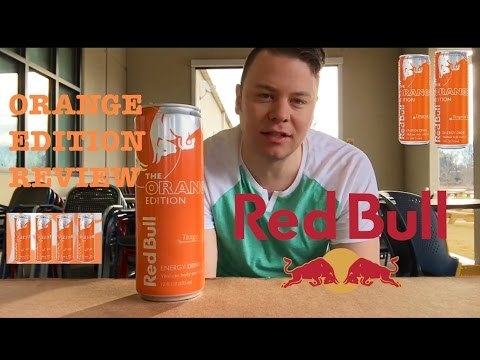 TANGERINE ORANGE EDITION RED BULL REVIEW | THE SHOWSTOPPER SHOWS