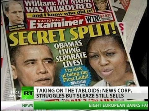 Murdoch empire on fire but sex, sleaze & scandal still sell well