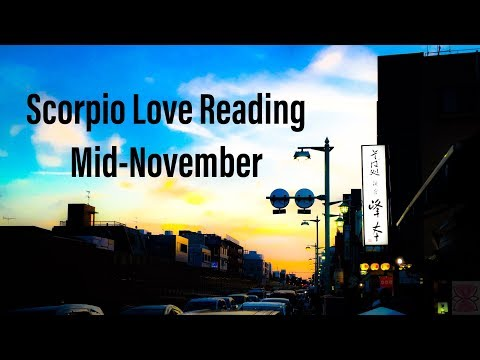 """""""Stressed About New Start,"""" Scorpio Mid-November Love Reading"""