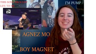 Video [AGNEZ MO] Boy Magnet Reaction [Dance Remix?] download MP3, 3GP, MP4, WEBM, AVI, FLV Juli 2018