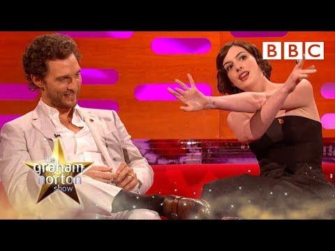 Anne Hathaway predicted Matthew McConaughey's Oscar - The Graham Norton Show: Series 16 - BBC One