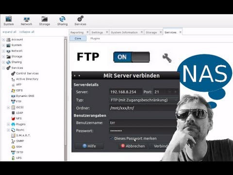 FreeNAS® Installation in Virtualbox