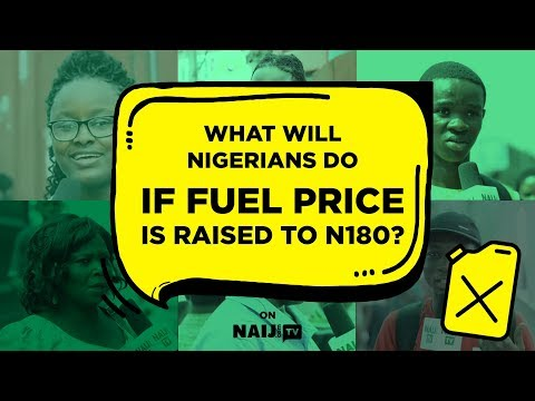 What will Nigerians do if FG increases fuel pump price to N180/litre? | Legit TV