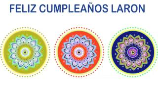 LaRon   Indian Designs - Happy Birthday
