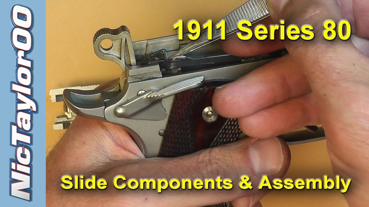 1911 Assembly Series 80 Youtube Salman Khan Film Songs Colt Model 1911a1 Parts Diagram Mark Iv 70 Disassembly Instructions Download By