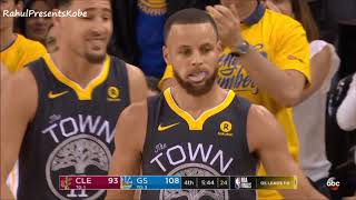 Steph Curry goes 5/5 from 3 in the 4th after Kendrick Perkins Talks Shit! Finals Game 2 (06/03/2018)