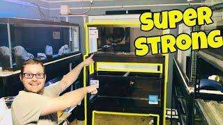 How To Build An Aquarium Rack