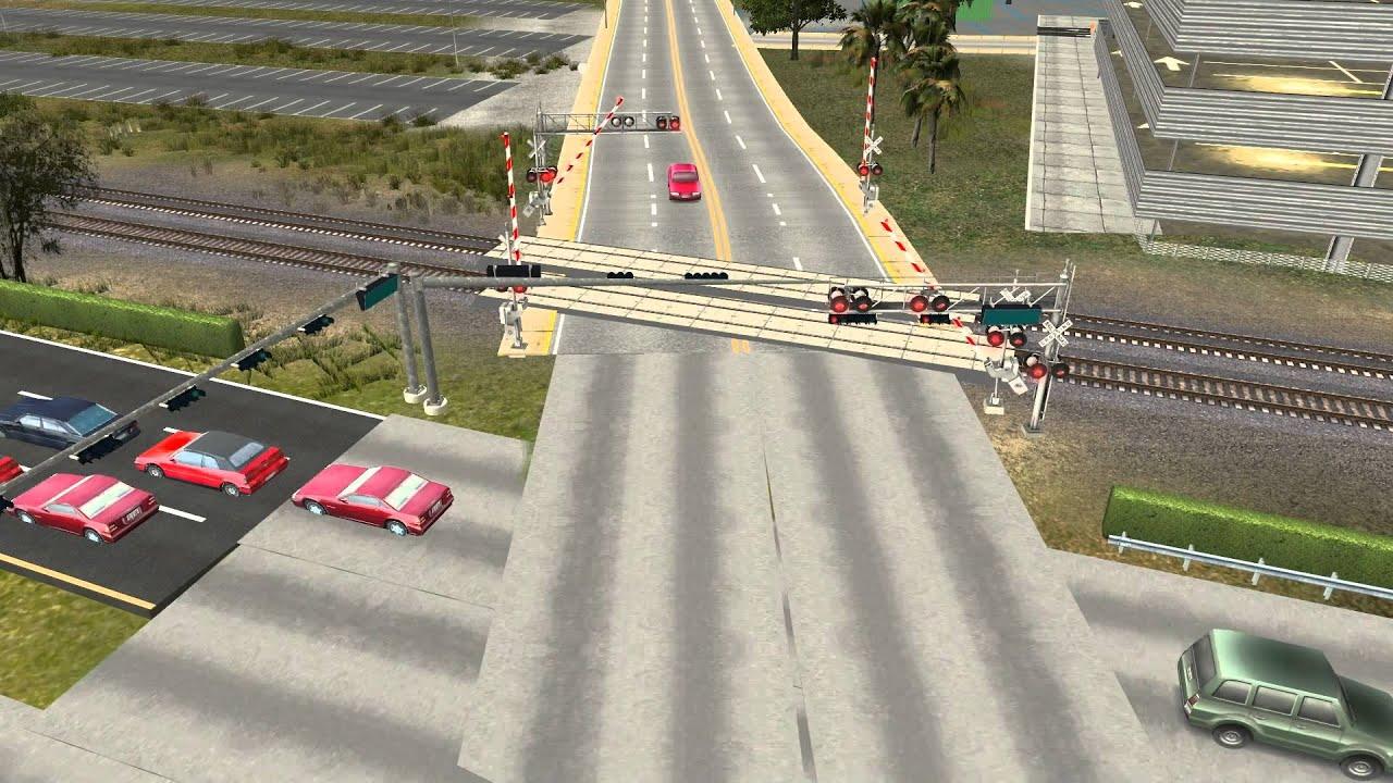 Trainz Simulator 12 Playing With Railroad Crossings Fec