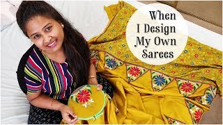 Make Your Own Designer Saree At Home | Look Gorgeous | DIY Clothing