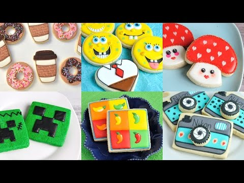AMAZING DECORATED COOKIES, SPONGEBOB, DONUTS AND COFFEE ... - photo#20