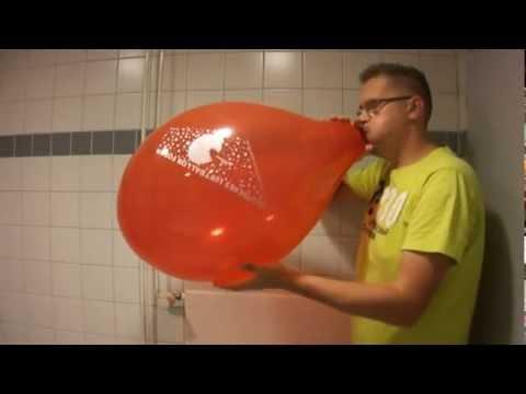 b2p 15 balloon - crystal red - Luftballonforum - YouTube
