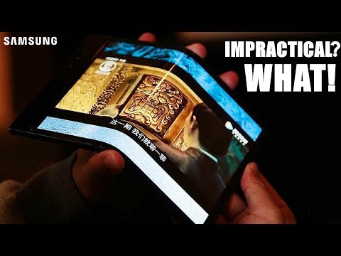 Samsung Foldable Phone - WHAT\'S WRONG WITH PEOPLE!