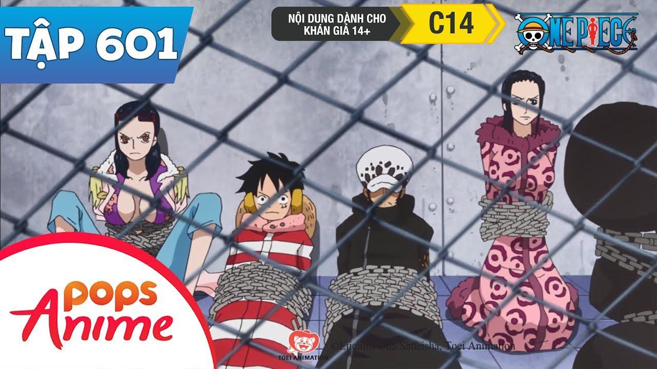 One Piece Tập 601 - Tân Thế Giới Chấn Động. Caesar Bắt Đầu Thí Nghiệm Ác Mộng - Đảo Hải Tặc