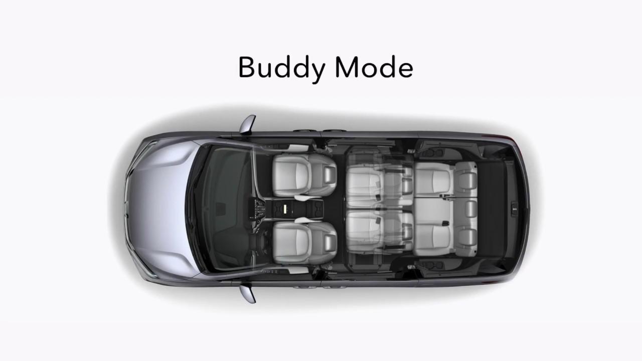 Magic slide seat configuration of the 2018 honda odyssey for Honda odyssey magic seat