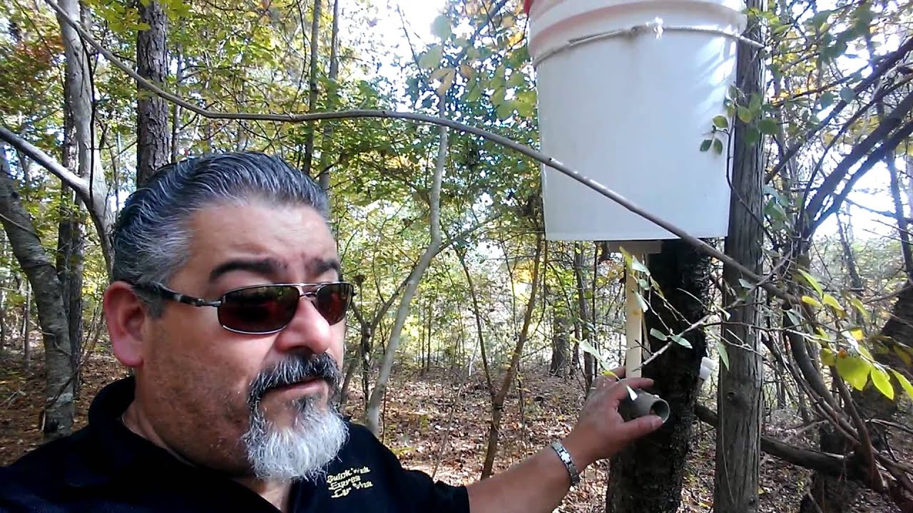 Homemade Deer Feeders 5 Gallon Bucket - Homemade Ftempo