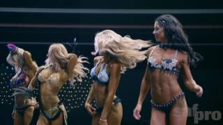 2016 SAF Pro Bikini and Fitness Model Highlights