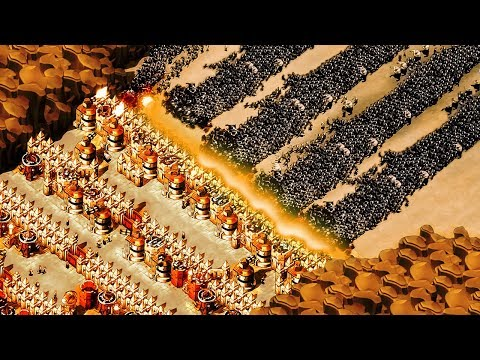 A Billion Zombies Swarm Our Mountain Pass in this Custom Map For They Are Billions