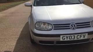 2003 VOLKSWAGEN VW GOLF 2.0 ESTATE WAGON VIDEO REVIEW