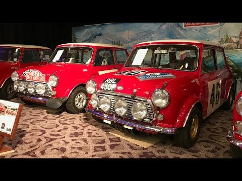 4 BMC Works Rally Mini's 1960's - First Time Together 2018 - Stavros969