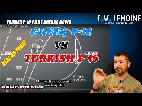 Turkish F-16 vs Greek F-16 Intercept Breakdown | Dogfight Over The Mediterranean or Fake?