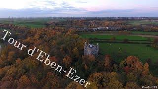 Dji phantom 4- Explosion de couleurs automnales- Tour d'Eben-Ezer