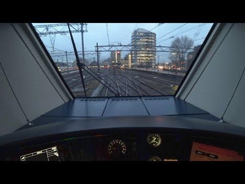 Train Driver's POV Uitgeest - Amsterdam SLT 2017