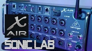 Behringer X-Air XR18 Desk Review