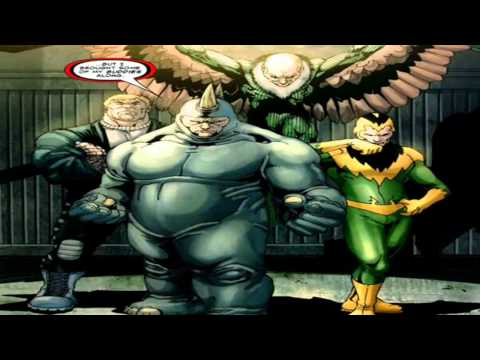 DC & Marvel Comics: The Bad Guys - We Care A Lot
