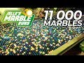 INCREDIBLE Marble Run Machine with 11,000 Marbles!