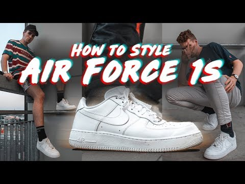 HOW TO STYLE CHUNKY SNEAKERS Nike Air Force 1's, Koio, Adidas Yung 1
