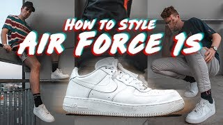 How To PERFECTLY Style Air Force 1s