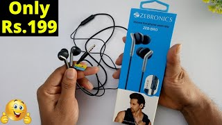 Zebronics ZEB-BRO Headset with Mic Unboxing And Review | Best Budget Earphone Under Rs 250 ?