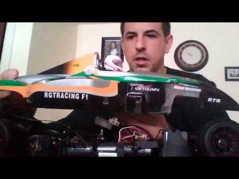 Unboxing formula 1 HSP 110 RC Car
