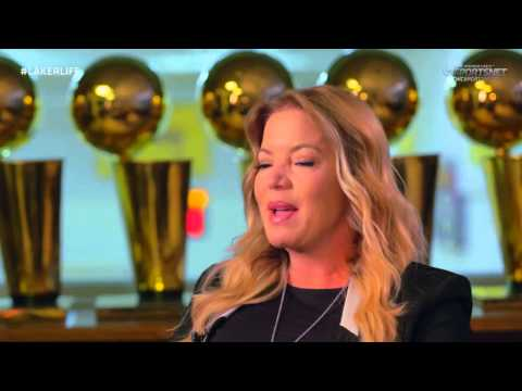 Jeanie Buss talks about growing up with Magic Johnson and Jerry Buss