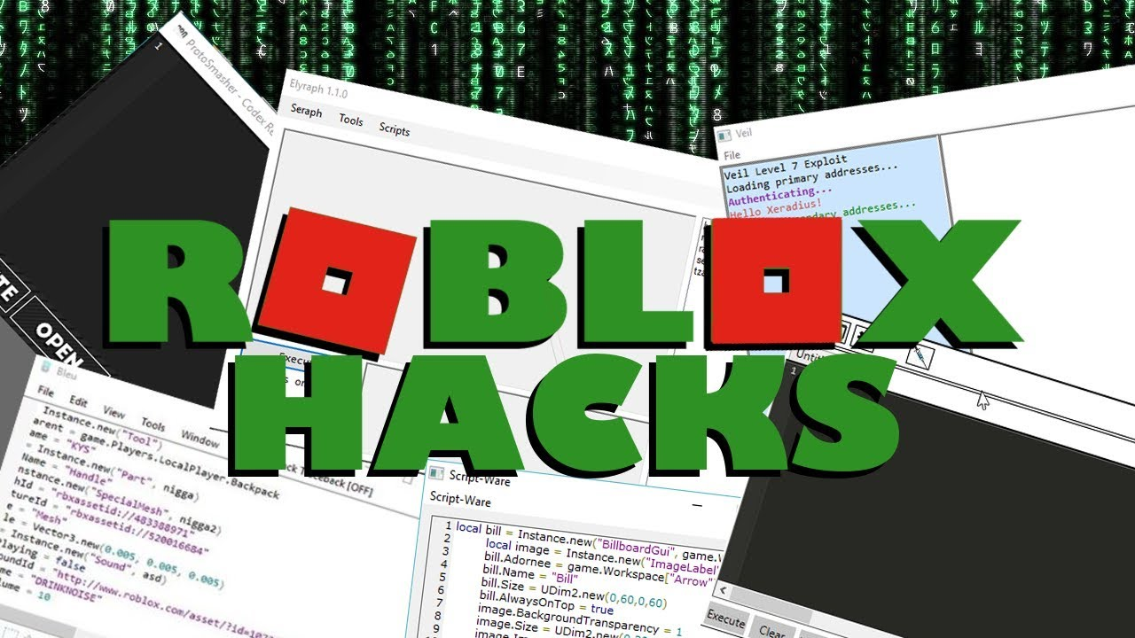 How to HACK in ROBLOX 2019! - YouTube