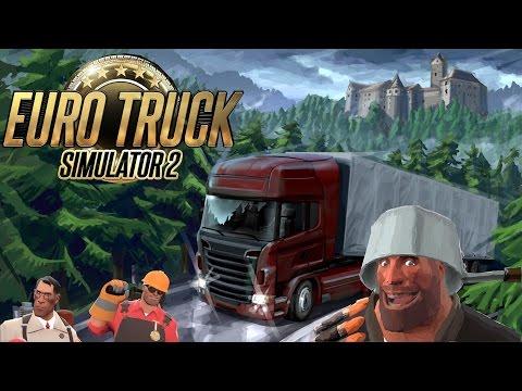 Heavy plays Euro Truck Simulator 2 |