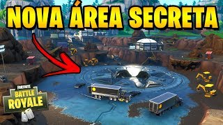 Fortnite-NEW SECRET AREA SUR SERVE LAKE