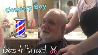 Country Boy Gets A Haircut! 💈✂️