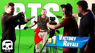 Fortnite Music Video Behind the Scenes (JT Music)