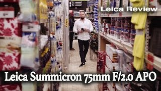 LEICA 75MM F/2.0 APO SUMMICRON-M LENS - BEST PORTRAIT LENS?