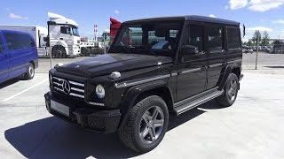 2016 Mercedes-Benz G 350d (W463). Start Up, Engine, and In Depth Tour.