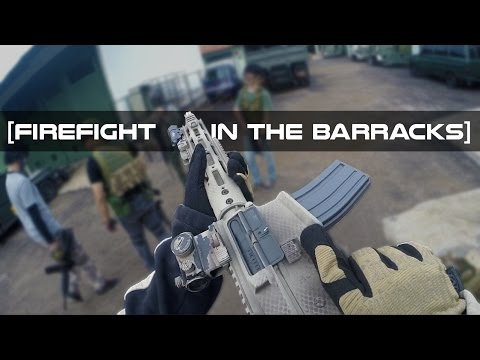 FIREFIGHT IN THE