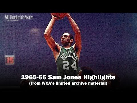 Sam Jones 1966 NBA Playoffs and Season Clips