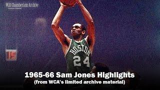 Sam Jones 1966 NBA Playoffs and Season Clips