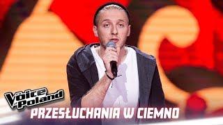 """Adrian Burek - """"I Feel Like I'm Drowning"""" - Przesłuchania w ciemno - The Voice of Poland 10"""