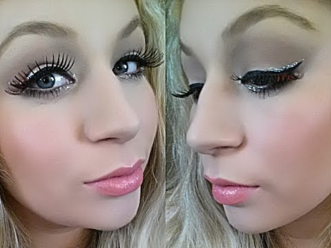 NYE Makeup Tutorial [Simple Glitter Glam]