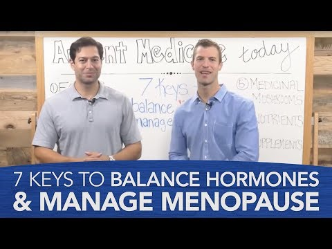 7 Keys to Balance Hormones & Manage Menopause