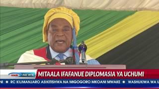 Balozi Mahiga ataka wanafunzi wa Diplomasia wafundishwe diplomasia ya viwanda