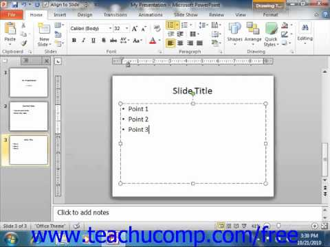 Learn powerpoint 2010 | lessons for powerpoint 2010.