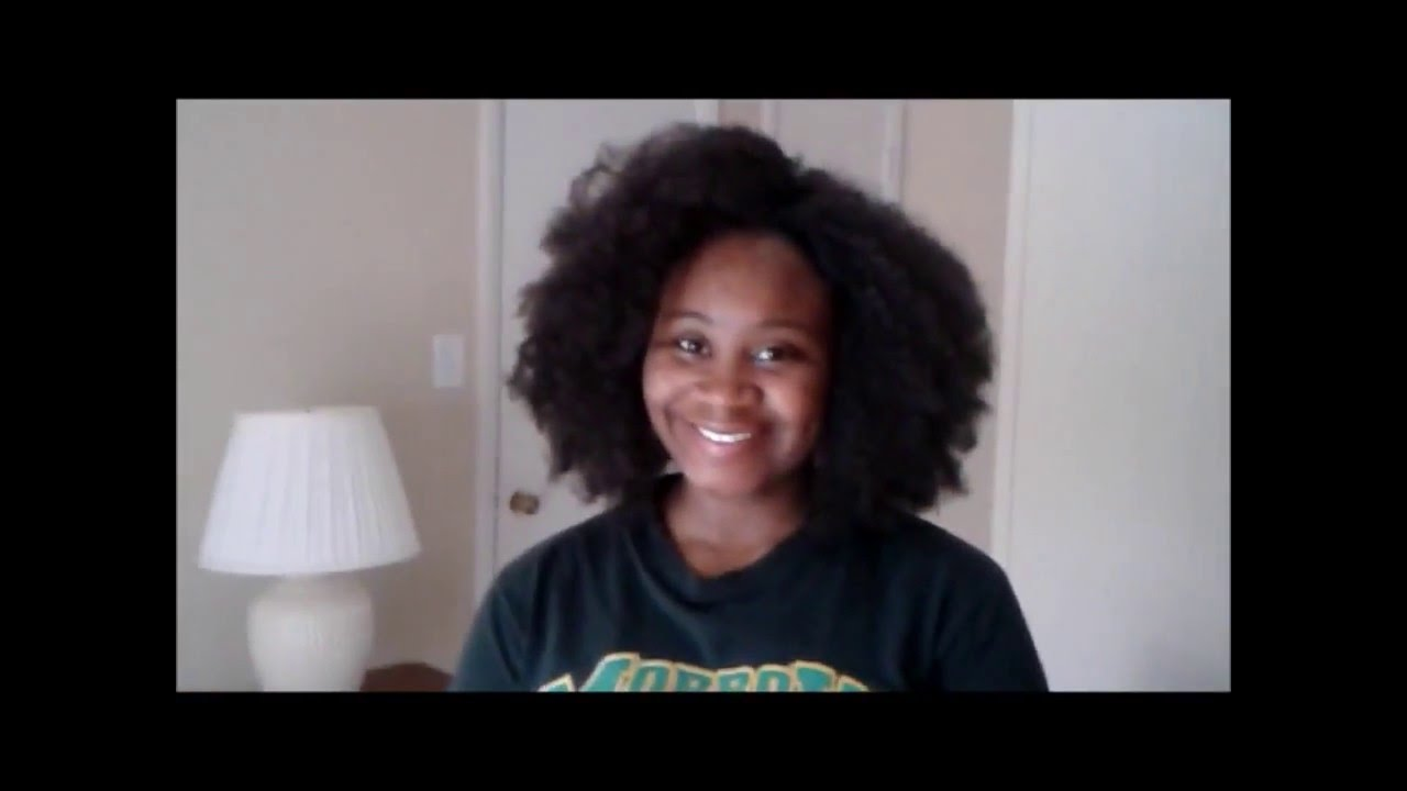 Crochet braids with Afro kinky synthetic hair by Equal